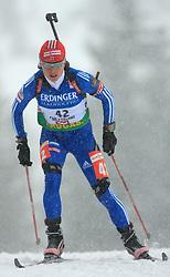 Svetlana Sleptsova (RUS) at Women 15 km Individual at E.ON Ruhrgas IBU World Cup Biathlon in Hochfilzen (replacement Pokljuka), on December 18, 2008, in Hochfilzen, Austria. (Photo by Vid Ponikvar / Sportida)