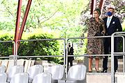 Tegelen, 27-05-2021<br /> <br /> Koning Willem Alexander en Koningin Maxima tijdens een streekbezoek aan Noord-Limburg. Het Koninklijk Paar bezoekt de gemeenten Venlo, Bergen en Venray. Het streekbezoek staat in het teken van positieve gezondheid. Tevens komt de invloed van corona op de streek gedurende het afgelopen jaar ter sprake.<br /> <br /> Op de foto: Passiespelen in Tegelen<br /> <br /> King Willem Alexander and Queen Maxima during a regional visit to North Limburg. The Royal Couple visits the municipalities of Venlo, Bergen and Venray. The regional visit is all about positive health. The influence of corona on the region during the past year is also discussed.