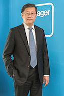 China / Shanghai / <br /> <br /> Dr. Yue Li , Country Manager China Hager Group<br /> <br /> © Daniele Mattioli Shanghai China Corporate and Industrial Photographer for Hager Group