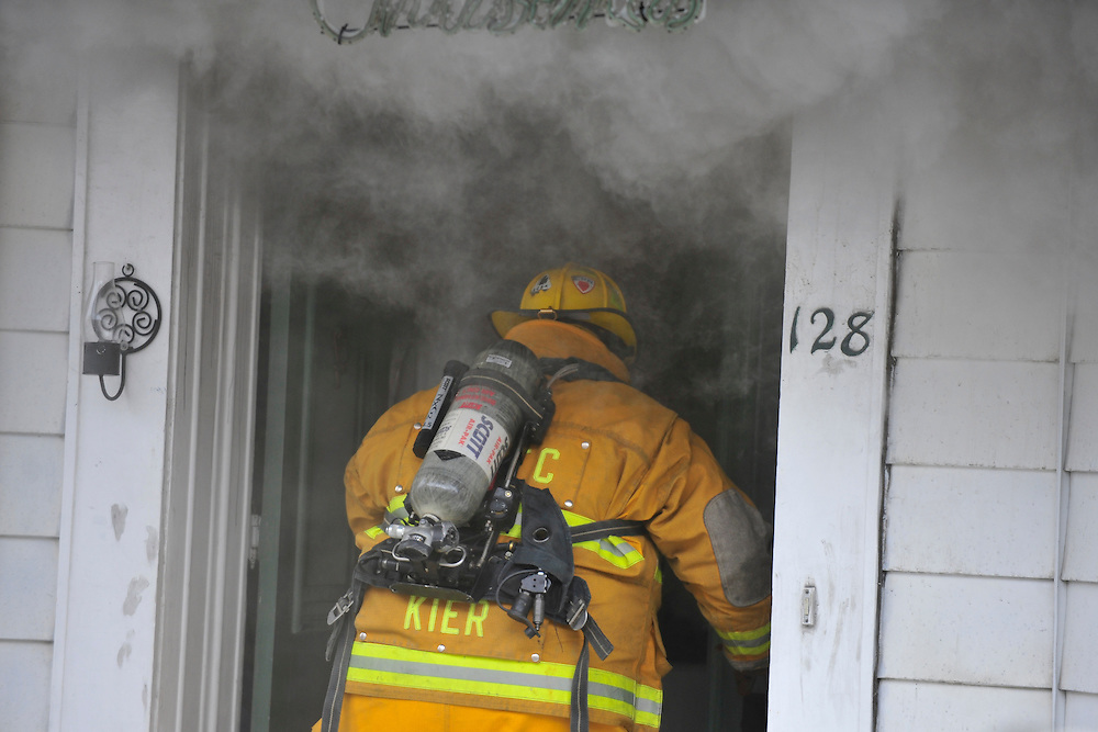 3/3/2014 Bath, PA Fire crews were called to 128 South Chestnut Street in Bath for a house fire Monday morning. Photo | CHRIS POST