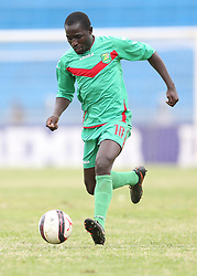 Bernard Odhiambo of Zoo FC in action against Kariobangi Sharks during their Sportpesa Premier League tie at Nyayo Stadium in Nairobi on July 30, 2017. They drew 1-1. Photo/Fredrick Omondi/www.pic-centre.com(KENYA)