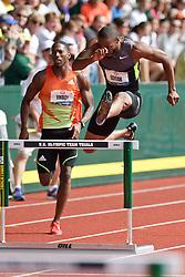 Olympic Trials Eugene 2012: men's 400 Hurdles, Angelo Taylor