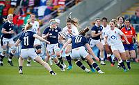 Caption Template Rugby Union - 2021 Women Six Nations - Pool A - England vs Scotland - Castle Park, Doncaster<br /> <br /> Leanne Riley of England at Castle Park <br /> <br /> Credit COLORSPORT/LYNNE CAMERON