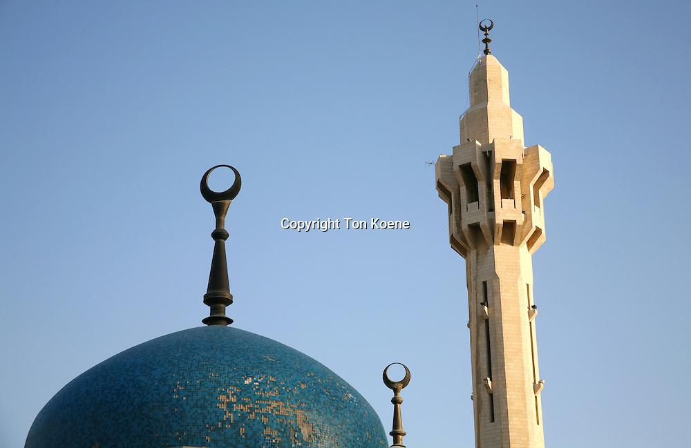 Mosque on friday in Amman, Jordan