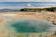 Unnamed Hot Spring along Shore of Yellowstone Lake, Yellowstone National Park, Wyoming