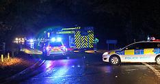 Worplesdon Car Hit Tree