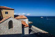 The view from the Picasso museum in Antibes, France
