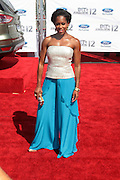 June 30, 2012-Los Angeles, CA : Actress Regina King attends the 2012 BET Awards held at the Shrine Auditorium on July 1, 2012 in Los Angeles. The BET Awards were established in 2001 by the Black Entertainment Television network to celebrate African Americans and other minorities in music, acting, sports, and other fields of entertainment over the past year. The awards are presented annually, and they are broadcast live on BET. (Photo by Terrence Jennings)