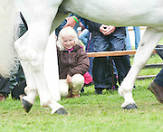 15/08/2013 Six year old Lucy Donnellan Co Down  at the 90th Connemara Pony show in Clifden Co. Galway. Photo:Andrew Downes
