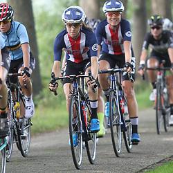 30-08-2017: Wielrennen: Boels Ladies Tour: Arnhem: Katie Hall