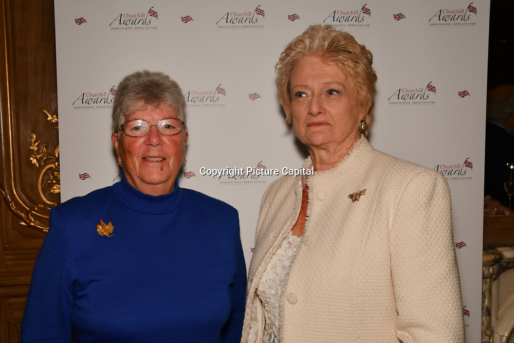 Winner of the special 'Local Hero' Awards Janet Lynn of the 7th annual Churchill Awards honour achievements of the Over 65's at Claridge's Hotel on 10 March 2019, London, UK.