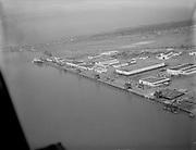 "Ackroyd 00075-2 ""Vancouver ship yard. April 22, 1946"" aerial"