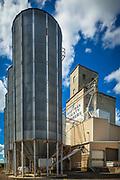 Grain silos in Steptoe, Washington