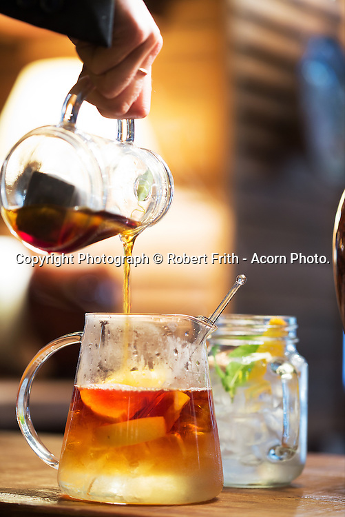 Iced Tea at Joes Oriental Diner<br /> Hyatt Hotel, Perth