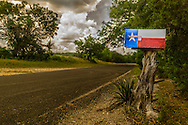 Texas Pride somewhere in the middle of Balcones Canyonlands National Wildlife Refuge in Marble Falls, Texas