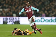 Angelo Ogbonna Obinze of West Ham United in action. Premier league match, West Ham Utd v Hull city at the London Stadium, Queen Elizabeth Olympic Park in London on Saturday 17th December 2016.<br /> pic by John Patrick Fletcher, Andrew Orchard sports photography.