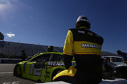 July 20, 2018 - Loudon, New Hampshire, United States of America - Ryan Blaney (12) prepares to take to the track to qualify for the Foxwoods Resort Casino 301 at New Hampshire Motor Speedway in Loudon, New Hampshire. (Credit Image: © Justin R. Noe Asp Inc/ASP via ZUMA Wire)