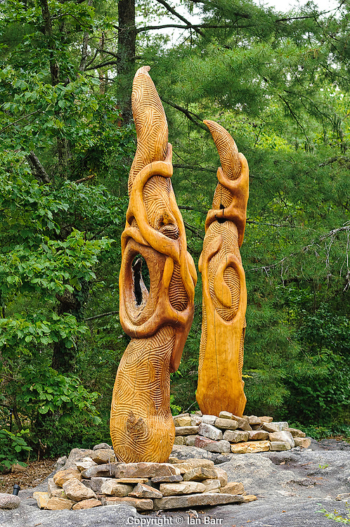 Photography of 'Elder Flame' by John McLeod at Rock City,Lookout Mountain, Georgia, USA.