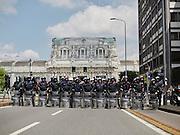 Manifestazione studentesca Noexpo, Milano 30 aprile 2015.  Christian Mantuano / OneShot
