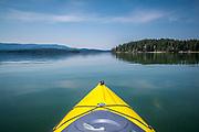 Kayaking on Flathead Lake with Linda Graf