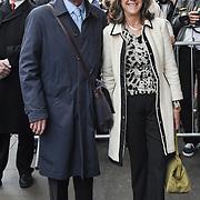 Melvyn Bragg,Marie-Elsa Bragg Arrivals at Man of La Mancha, at London Coliseum on 30 April 2019, London, UK.