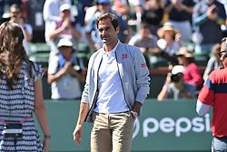 March 16, 2019 - Palm Desert, California, Usa - Tennis : BNP Paribas Open 2019 - Roger Federer - Suisse (Credit Image: © Panoramic via ZUMA Press)