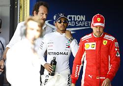 July 7, 2018 - Silverstone, Great Britain - Motorsports: FIA Formula One World Championship 2018, Grand Prix of Great Britain, .#44 Lewis Hamilton (GBR, Mercedes AMG Petronas Motorsport), #5 Sebastian Vettel (GER, Scuderia Ferrari) (Credit Image: © Hoch Zwei via ZUMA Wire)