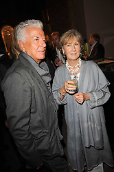 NICKY HASLAM and PATTI PALMER-TOMKINSON at a party to celebrate the publication of Inheritance by Tara Palmer-Tomkinson at Asprey, 167 New Bond Street, London on 28th September 2010.