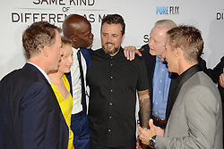 October 12, 2017 - Los Angeles, California, USA - RENEE ZELLWEGER, DJIMON HOUNSO, MICHAEL CARNEY, JON VOIGHT and DARREN MOORMAN appears on the Red Carpet for the 'Same Kind Of Different As Me' Los Angeles Premiere at the Westwood Village Theatre. (Credit Image: © Billy Bennight via ZUMA Wire)