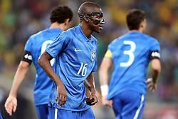 Ramires na partida entre Brasil x África do Sul, no Estádio Soccer City, em Joanesburgo. FOTO: Jefferson Bernardes/ Agência Preview