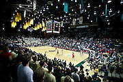 SHOT 2/23/10 10:59:51 PM - A view of Moby Arena as Colorado State plays  New Mexico during the second half of their regular season Mountain West Conference game in Fort Collins, Co. New Mexico survived a tight game winning 72-66. (Photo by Marc Piscotty / © 2010)