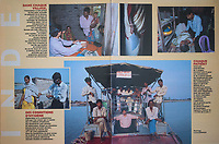 French writer Dominique Lapierre and his wife, also Dominique, have set up a charity in India to help villagers in the Sundarbans. They've turned old ferries into floating clinics. Story for VIVA magazine (France)<br /> <br /> Sujet sur les bateaux-hopitaux de Dominique Lapierre dans les Sundarbans dans le delta du Gange (Bengal de l'ouest) en Inde.