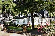 HOT SPRINGS, AR – JUNE 29, 2013: A residential neighborhood.