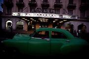 Havana, 12 de Maio de 2011..Fachada do Cine Payret..Foto: LEO DRUMOND / NITRO