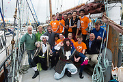 02/07/2017 REPRO FREE: <br /> Young sailors from Safe Haven Ireland  at SeaFest in Galway on the eve of their next sail training voyage onwards to Limerick. Safe Haven Ireland is a not-for-profit organisation providing integration opportunities in Ireland and sailing for all.. Photo:Andrew Downes, xposure .