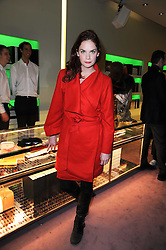 Actress RUTH WILSON at a party hosted by Prada to celebrate launch of a book documenting the company's diverse projects in fashion, architecture, film and art held at their store 16/18 Old Bond Street, London on 19th November 2009.