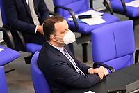 DEU, Deutschland, Germany, Berlin, 23.06.2021:  Bundesgesundheitsminister Jens Spahn (CDU) in der Plenarsitzung im Deutschen Bundestag.