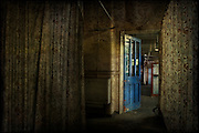 Ward in an abandoned asylum