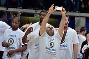 DESCRIZIONE : Final Eight Coppa Italia 2015 Finale Olimpia EA7 Emporio Armani Milano - Dinamo Banco di Sardegna Sassari<br /> GIOCATORE : Jerome Dyson Shane Lawal<br /> CATEGORIA : esultanza post game post game<br /> SQUADRA : Banco di Sardegna Sassari<br /> EVENTO : Final Eight Coppa Italia 2015<br /> GARA : Olimpia EA7 Emporio Armani Milano - Dinamo Banco di Sardegna Sassari<br /> DATA : 22/02/2015<br /> SPORT : Pallacanestro <br /> AUTORE : Agenzia Ciamillo-Castoria/Max.Ceretti