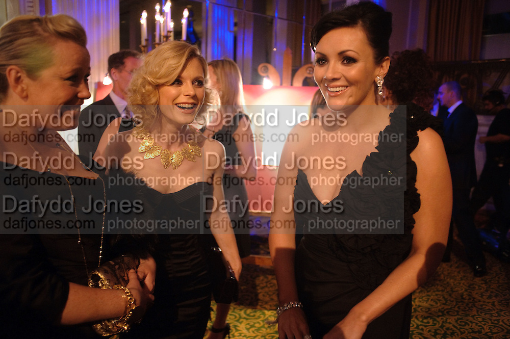 Kate Halfpenny; EMILIA FOX; Martine McCutcheon, Specsavers Crime Thriller Awards.  Award ceremony celebrating the best in crime fiction and television. <br /> Grosvenor House Hotel, Park Lane, London. 21 October 2009