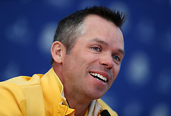 Team Europe's Paul Casey during preview day four of the Ryder Cup at Le Golf National, Saint-Quentin-en-Yvelines, Paris. PRESS ASSOCIATION Photo. Picture date: Thursday September 27, 2018. See PA story GOLF Ryder. Photo credit should read: David Davies/PA Wire. RESTRICTIONS: Editorial use only. No commercial use.