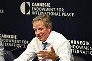 Timothy Geithner speaks at Carnegie Endowment for International Peace