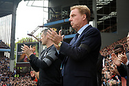Harry Redknapp , manager of Birmingham city before k/o.  EFL Skybet championship match, Aston Villa v Birmingham city at Villa Park in Birmingham, The Midlands on Sunday 23rd April 2017.<br /> pic by Bradley Collyer, Andrew Orchard sports photography.