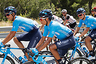 Nairo Quintana (COL - Movistar) during the UCI World Tour, Tour of Spain (Vuelta) 2018, Stage 4, Velez Malaga - Alfacar Sierra de la Alfaguara 161,4 km in Spain, on August 28th, 2018 - Photo Luis Angel Gomez / BettiniPhoto / ProSportsImages / DPPI