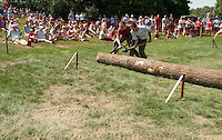 Woodsman Competition in Gilford August 26, 2012.