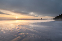Kalaloch Beach sunset, Olympic National Park Washington
