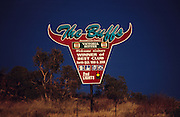 Australia, Queensland. OZ the Land of Cows and cattle. 2001.'MEAT' across the World..foto © Nigel Dickinson