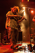 Ryan Young playing fiddle for Trampled by Turtles at Celebrate Brooklyn.