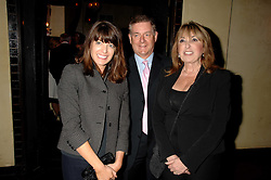Left to right, CLAUDIA WINKLEMAN, SIR NICK LLOYD and EVE POLLARD at a party to celebrate the publication of Piers Morgan's book 'Don't You Know Who I Am?' held at Paper, 68 Regent Street, London W1 on 18th April 2007.<br /><br />NON EXCLUSIVE - WORLD RIGHTS
