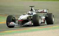 David COULTHARD,        Motorsport Formel 1     McLaren Mercedes MP4-16 Saison 2001